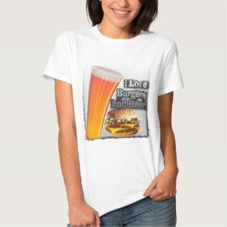 ILoveBurgersandBeer Tall One Tshirts