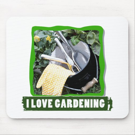 ILoveGardening Mouse Pad