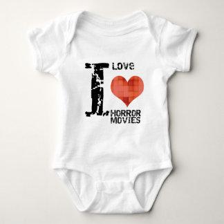 ILOVEHORROR.png Baby Bodysuit