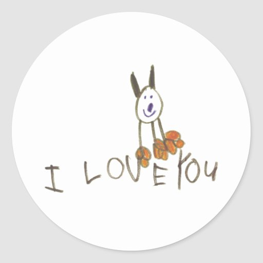 ILoveYouPuppy Stickers