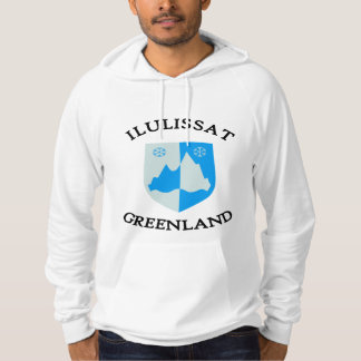 Ilulissat coat of arms (2) hoodie