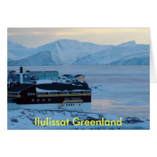 Ilulissat Greenland - Customized Card