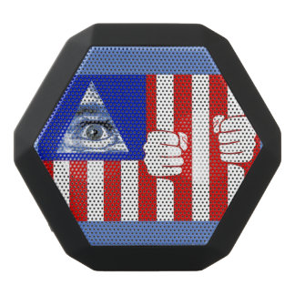 Iluminati Black Bluetooth Speaker