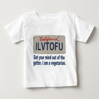 ILVTOFU California License Plate Baby T-Shirt