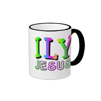 ILY I love you Jesus Christian gift design Coffee Mug