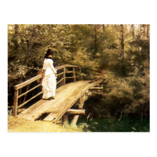 Ilya Repin- Bridge in Abramtsevo Postcard