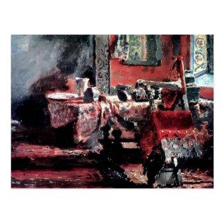 Ilya Repin- Interior (etude) Postcard