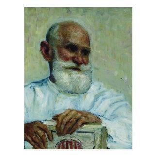 Ilya Repin-Portrait of physiologist Ivan Pavlov Postcard