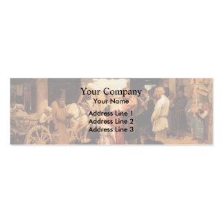 Ilya Repin- Send off of recruit Business Card