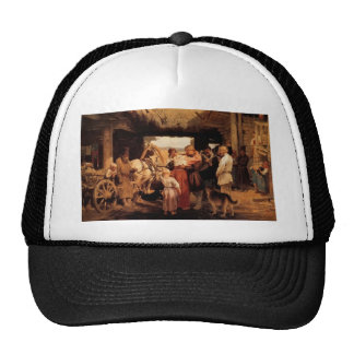 Ilya Repin- Send off of recruit Hat