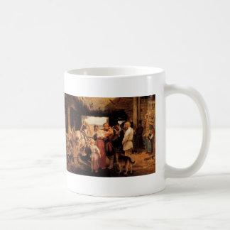 Ilya Repin- Send off of recruit Coffee Mug