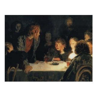 Ilya Repin- The Revolutionary Meeting Postcard