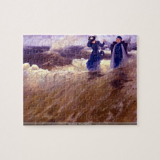 Ilya Repin - What Freedom! puzzle