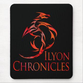 Ilyon Chronicles Red Dragon Mousepad