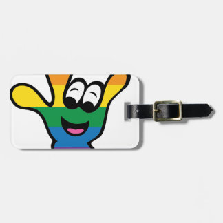ILYrainbowFinal Luggage Tag