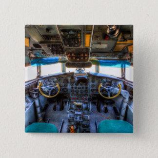 Ilyushin IL-18 Cockpit 2 Inch Square Button