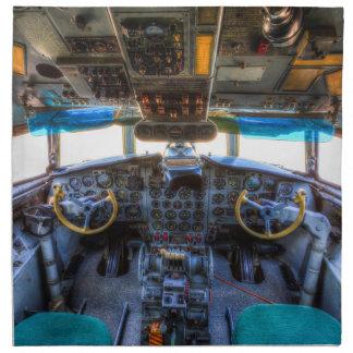 Ilyushin IL-18 Cockpit Napkin
