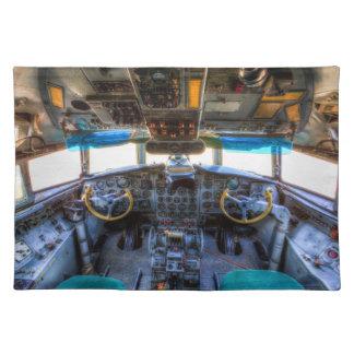 Ilyushin IL-18 Cockpit Placemat