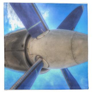 Ilyushin IL-18 Turboprop Engine Napkin