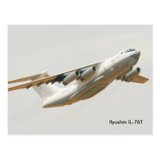 Ilyushin IL-76T for postcard