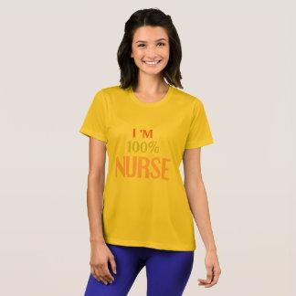 I'm 100% Nurse Tshirt