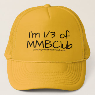 I'm 1/3 of MMBClub hat, with URL Trucker Hat
