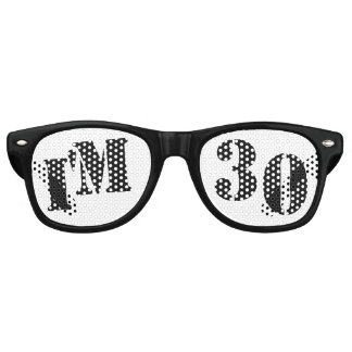 I'm 30 - 30th Birthday Party Glasses Gag Gift Party Sunglasses