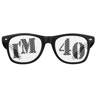 I'm 40 - 40th Birthday Party Glasses Gag Gift Party Sunglasses