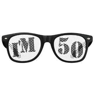 I'm 50 - 50th Birthday Party Glasses Gag Gift Sunglasses