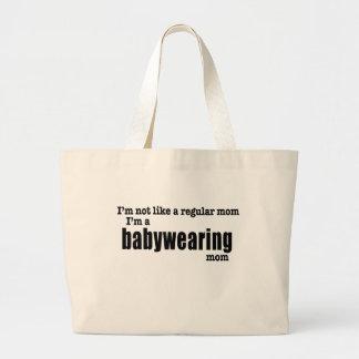 I'm a Babywearing Mom - Heavyweight Tote Bag