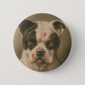I'm a Bad Dog What Kind of Dog Are You? 2 Inch Round Button