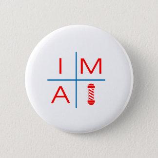 Im A Barber 2 Inch Round Button