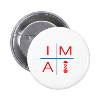 Im A Barber Pinback Buttons