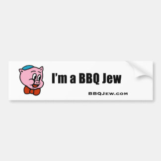 I'm a BBQ Jew Bumper Sticker