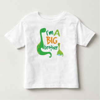 I'm A Big Brother Boys Dinosaur T-shirt