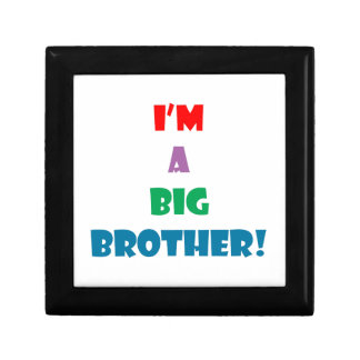 I'm a big brother text gift boxes