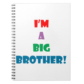 I'm a big brother text note books