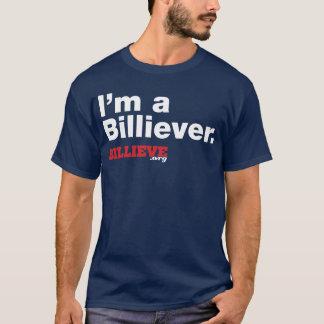 """""""I'm a Billiever"""" Navy Blue Tee Shirt"""