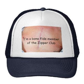 I'm a bona fide member of the Zipper Club Mesh Hats