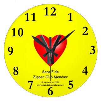 I'm a bona fide member of the Zipper Club Wallclock