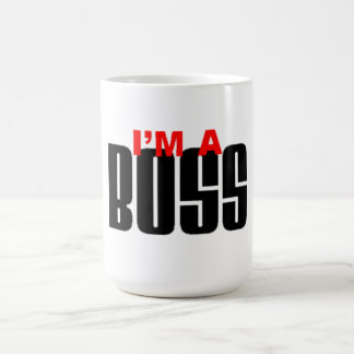 I'M  A BOSS COFFEE MUG