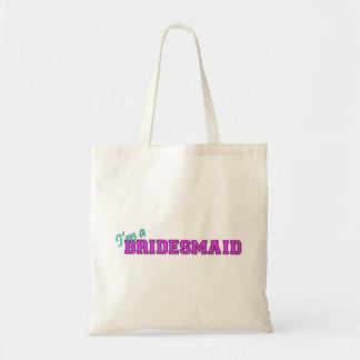 I'm A Bridesmaid Budget Tote Bag