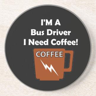 I'M A Bus Driver, I Need Coffee! Drink Coasters