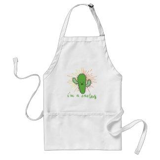 i'm a cactus standard apron
