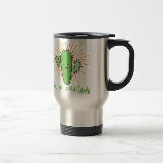 i'm a cactus travel mug
