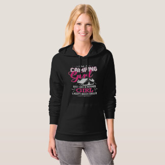 I'm A Camping Girl Funny Cool Tent Camper Hoodie