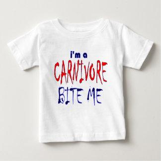 I'm a Carnivore Bite Me kids Baby T-Shirt