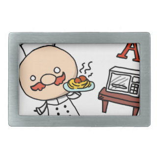 I'm a chef! belt buckles