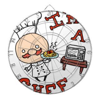 I'm a chef! dartboard