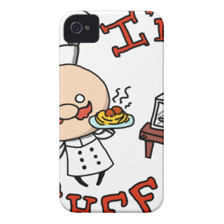 I'm a chef! iPhone 4 cover